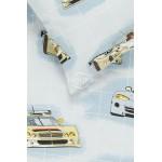 Vaikiška patalynė RACING CARS 10-0360-GREY