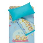 Vaikiška patalynė BEARS 10-0215/00-0358-L.BLUE/BLUE ATOL
