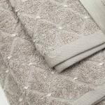 3 dalių rankšluosčių komplektas T0107 T0107-SHADOW GREY 30x50, 50x70, 70x140 cm