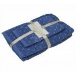 3 dalių rankšluosčių komplektas T0107 T0107-CLASSIC BLUE