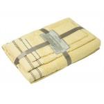 3 dalių rankšluosčių komplektas T0044 T0044-L.YELLOW 30x50, 50x70, 70x140 cm