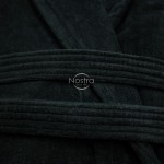 Chalatas VELOUR-430 430 BATHROBE-BLACK L