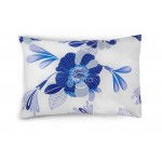 Satino patalynė ABRIENNE 20-1390-FOREV BLUE 145x200, 50x70 cm