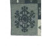 Antklodė, pledas iš MERINO vilnos 80-3128-GREY