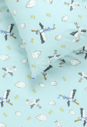 Vaikiška patalynė FLYING LITTLE STORKS