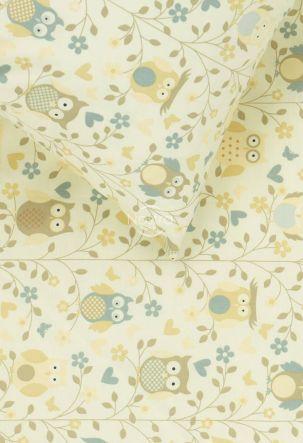 Детское постельное белье LITTLE OWLS