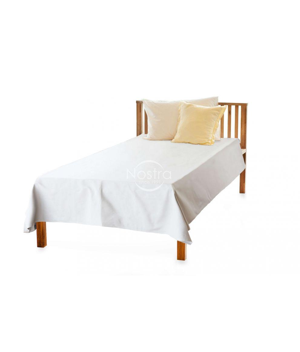 Balta drobės paklodė