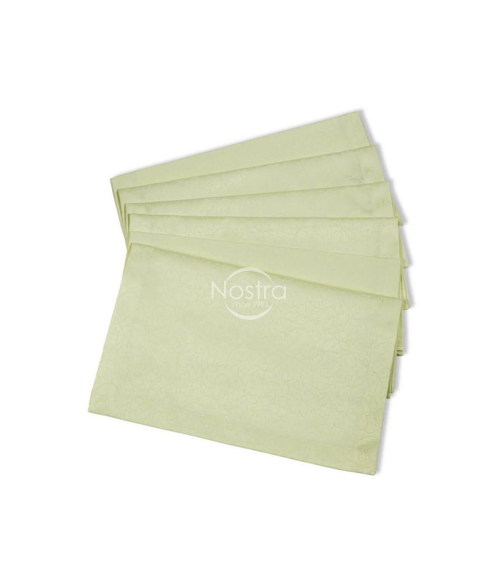 Jacquard sateen napkins, 6 pcs