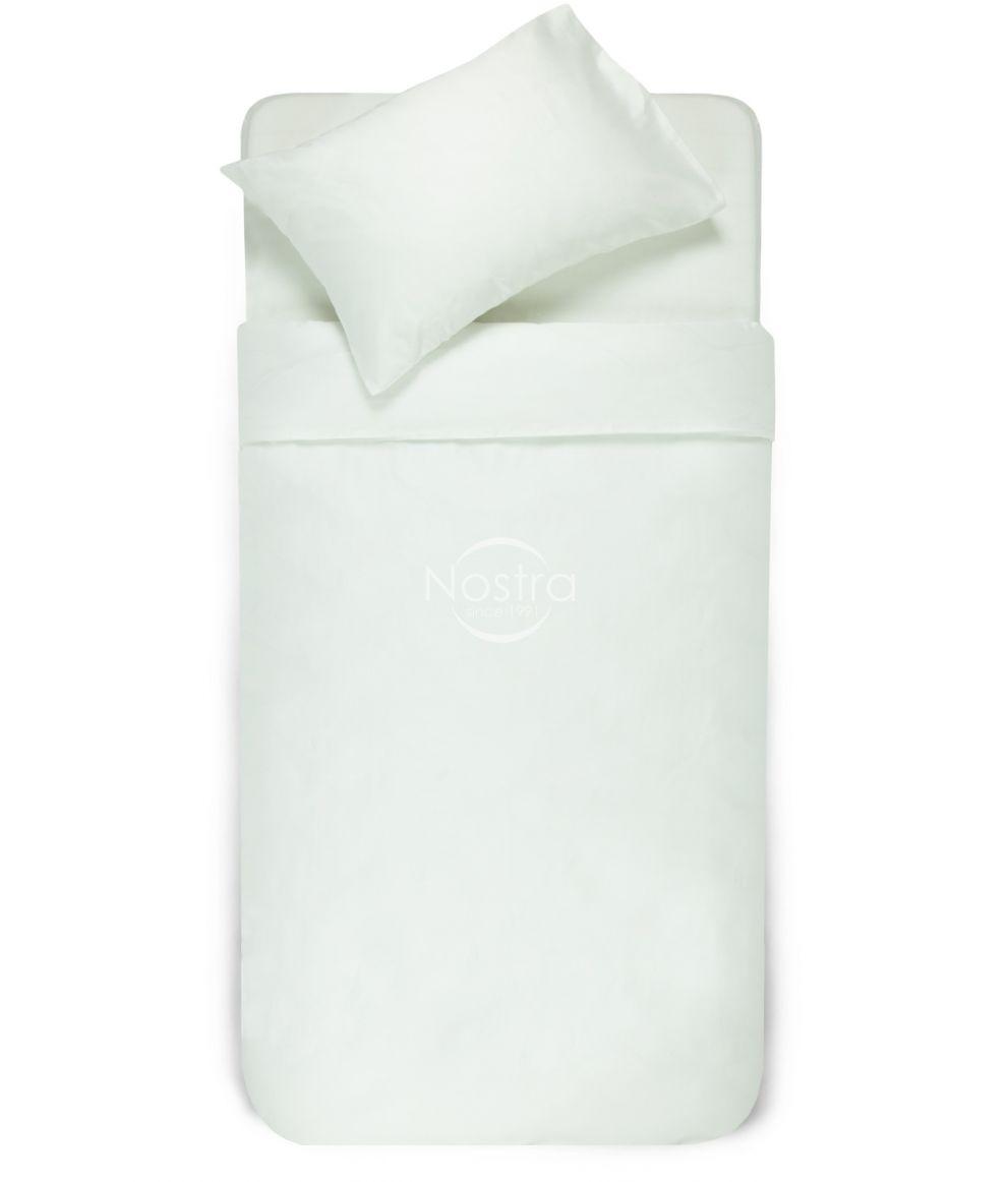Baltas drobės užvalkalas antklodei