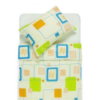 Серсукер постельное бельё ELEANOR 30-0183-GREEN BLUE