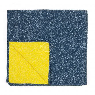 Quilted bedspread L0014-P B/YELLOW