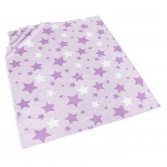 violetinis vaikiskas medvilninis pledas