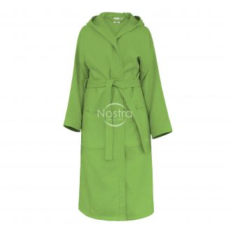 Chalatas PIQUE su gobtuvu 380 BATHROBE-GREEN 155