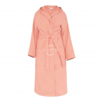 Chalatas PIQUE su gobtuvu 380 BATHROBE-GRAPEFRUIT