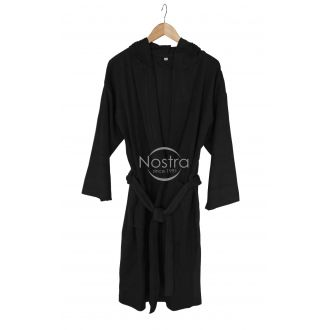 Халат с капюшоном 00-0055-BLACK