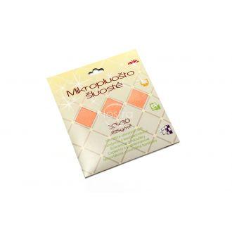 mikrofiberio sluoste