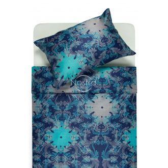Mako satino patalynė CAROLINE 40-0631-BLUE
