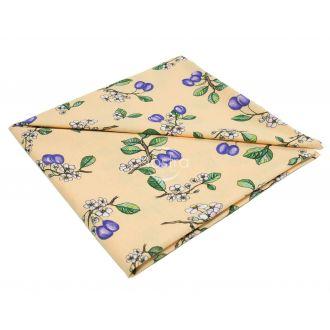 medvilnine staltiese persikines spalvos