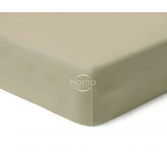 Fitted sateen sheets 00-0277-TAUPE