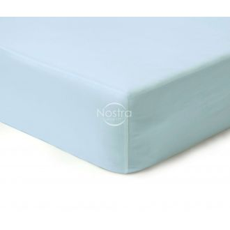 Fitted sateen sheets 00-0270-L.BLUE