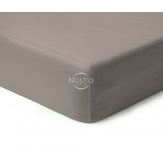 Fitted sateen sheets 00-0223-SILVER GREY