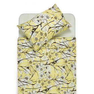 Серсукер постельное бельё EMMA 20-0437 yellow