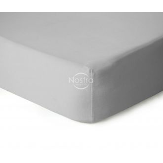 Fitted jersey sheets JERSEY-GLACIER GREY