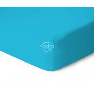 Fitted jersey sheets JERSEYBTL-AQUA