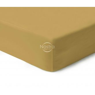 Fitted sateen sheets 00-0222-GOLDEN CRE