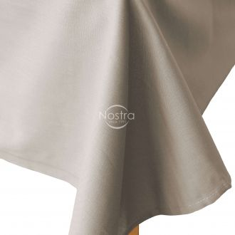 Flat cotton sheet 00-0307-L.CACAO