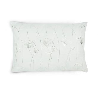 Pillow METALIC 70-0017-WHITE/SILVER