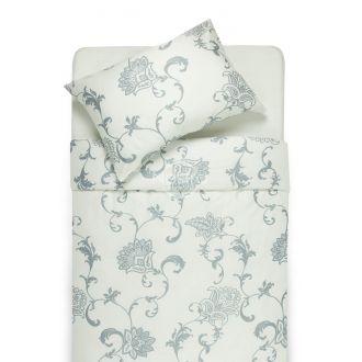 Постельное бельё из сатина AVA 20-1448-WHITE