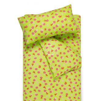 Vaikiška flanelės patalynė LITTLE BEES 10-0130-GREEN