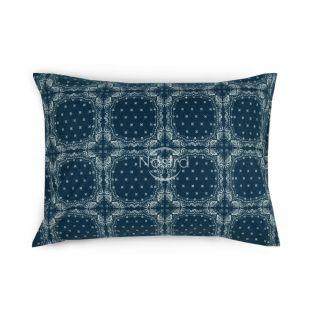 Flanelės pagalvės užvalkalas su užtrauktukais 40-1045-BLUE