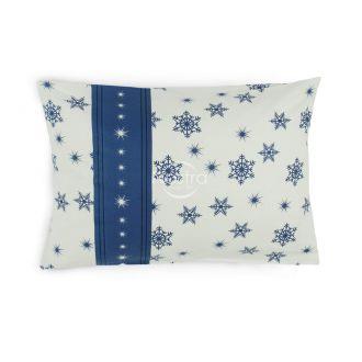 Flanelės pagalvės užvalkalas su užtrauktukais 40-0996-NAVY