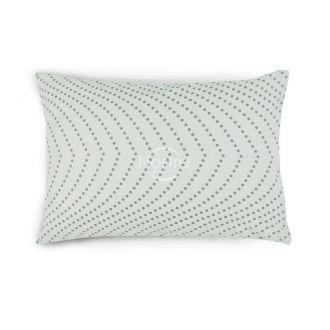 Flanelės pagalvės užvalkalas su užtrauktukais 30-0508-WHITE