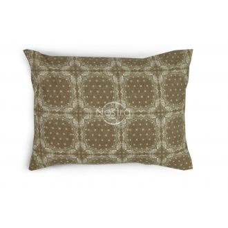 Flanelės pagalvės užvalkalas su užtrauktukais 40-1045-CACAO
