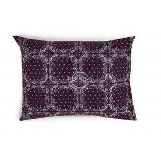 Flanelės pagalvės užvalkalas su užtrauktukais 40-1045-DARK PLUM