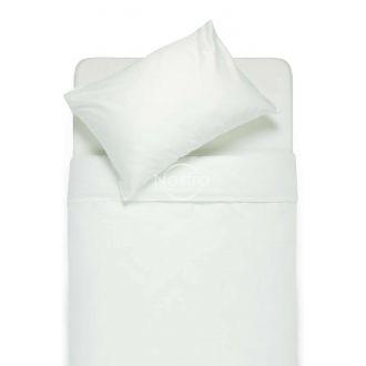 Постельное бельё из сатина ADELA 00-0001-OFF WHITE