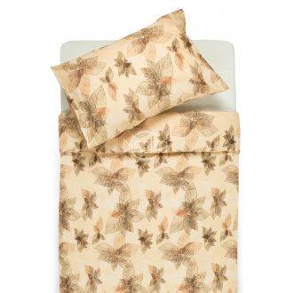 Cotton bedding set DUSTY 20-0405-PEACH