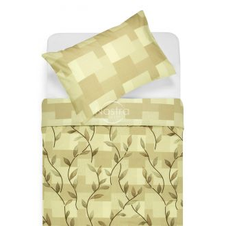 Cotton bedding set DREW 30-0565/40-0376-BROWN