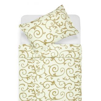 Cotton bedding set DREAM 40-0487-CREAM
