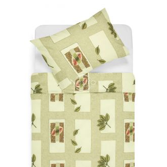 Cotton bedding set DULCIE 40-0105-GREEN