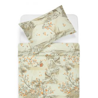 Polycotton bedding set HEDY 20-1362-BEIGE