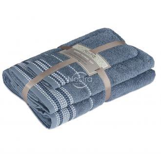 Набор из 3 полотенец EXCLUSIVE T0044-STONE BLUE