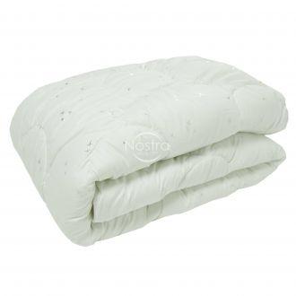 Antklodė, lovos užtiesalas METALIC 70-0021-WHITE/SILVER