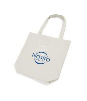 Ekologiškos medvilnės maišelis 00-0076-NATURAL LOGO