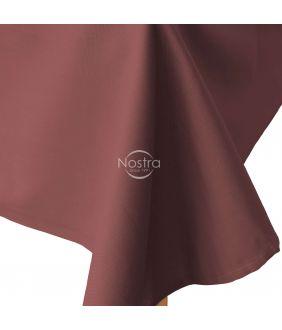 Flat cotton sheet 00-0237-MARSALA
