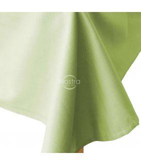 Flat cotton sheet 00-0002-LT.GREEN