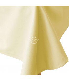 Flat cotton sheet 00-0016-PALE BANAN